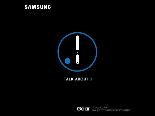 三星8/31柏林發表Gear S3智慧手錶[IFA 2016]
