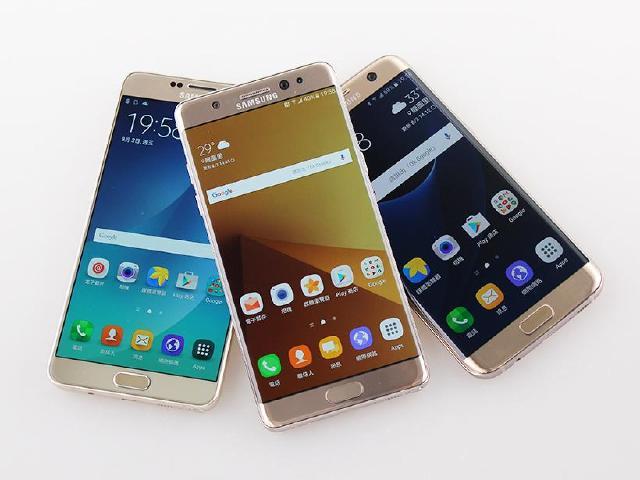 從外型看三星Note 7、Note 5與S7 edge旗艦差異