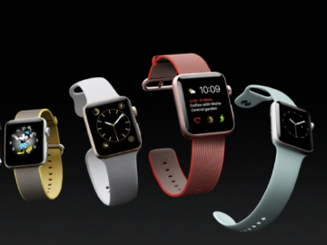 Apple Watch Series 2亮相 9/16台灣上市