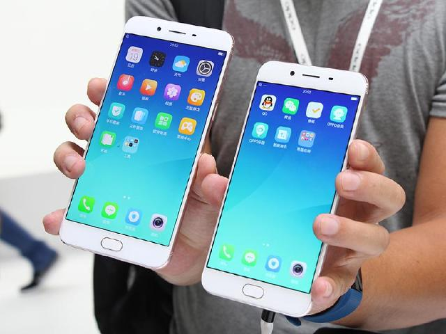 F1.7大光圈手機OPPO R9s與R9s Plus 上海動手玩