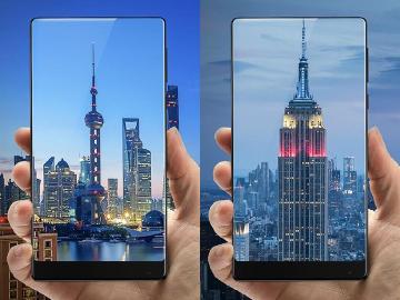 小米概念手機MIX發表 全面屏設計、全陶瓷機身設計