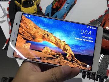 裸眼3D、雙鏡頭手機 ZTE AXON 7 MAX發表