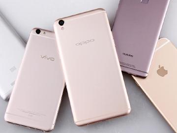 擠下華為 OPPO躍升中國智慧手機市場龍頭
