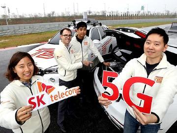 韓國SK電信攜手BMW開發5G聯網汽車