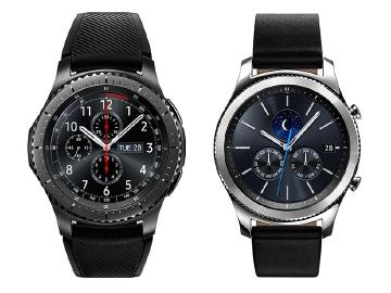 三星智慧錶Gear S3冒險家與品味家 台灣12月初上市