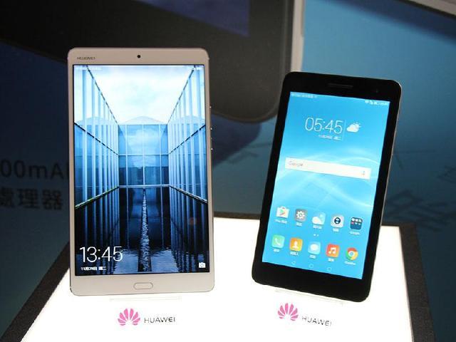 華為通話平板MediaPad M3與T2 7.0台灣12月上市
