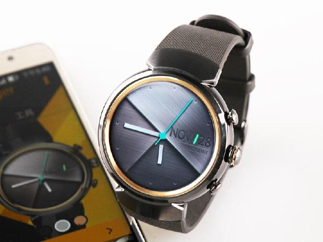 ASUS ZenWatch 3開箱 經典圓錶加入快充規格