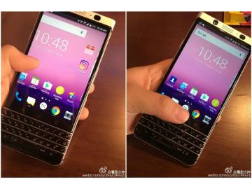 QWERTY鍵盤回歸?黑莓新手機Mercury外型疑曝光