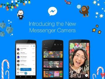 臉書Messenger全新拍照功能 增加更多互動感