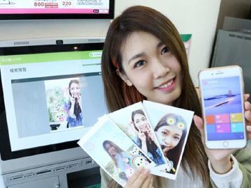 美圖秀秀App聯手7-11 每日3千張明信片免費印