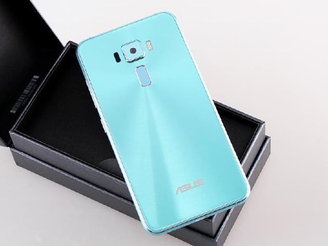 全球限量款!ASUS ZenFone 3湖水藍搶先開箱