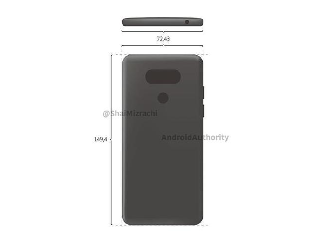 傳延續G5設計 LG G6外型模擬圖、尺寸曝光