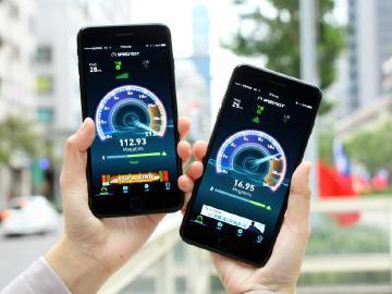 有3CA的iPhone 7 Plus 實測中華與遠傳4G速度