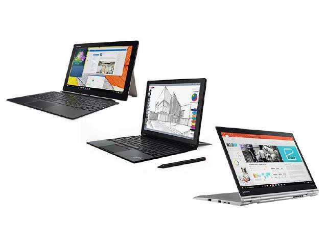 聯想推IdeaPad Miix 720與ThinkPad X1系列變形筆電[CES 2017]