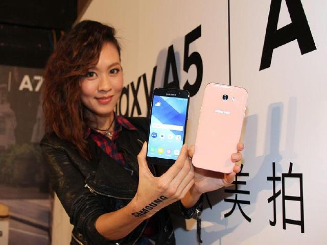 防水美拍機SAMSUNG A7與A5 2017 台灣預購上市