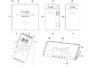 可折二合一智慧手機成趨勢?LG、三星、微軟專利曝光