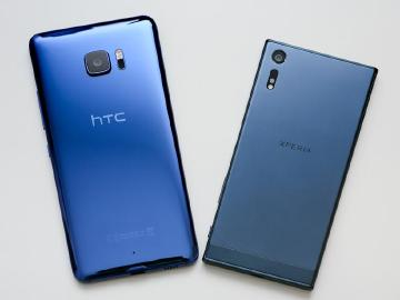HTC U Ultra遇上Sony XZ 藍色系手機比較