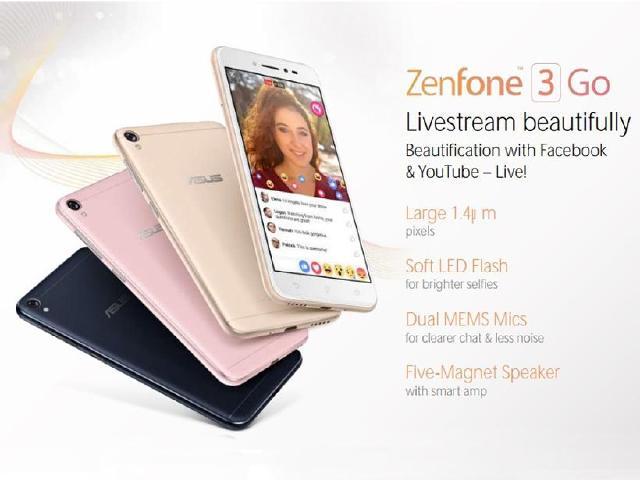 主打直播美顏!華碩規劃推出ZenFone 3 Go