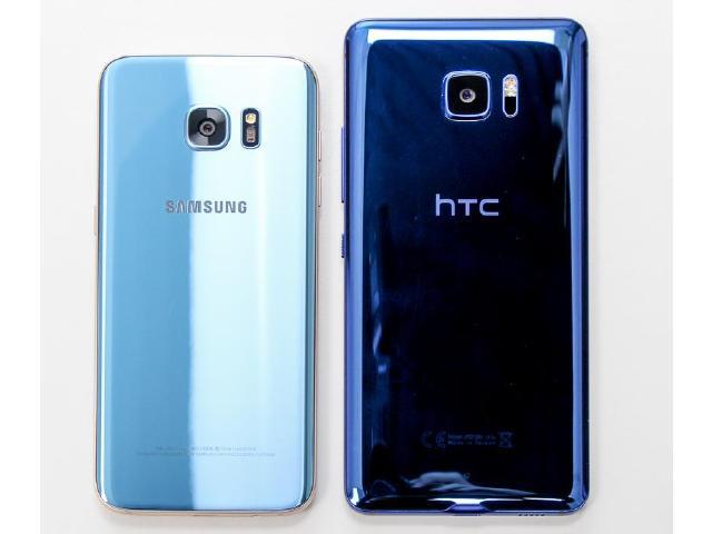 藍色奇機!HTC U Ultra對上三星S7 edge