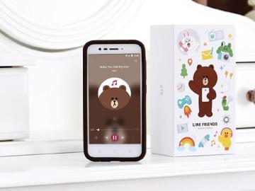 韓國KT電信推出超萌LINE FRIENDS手機