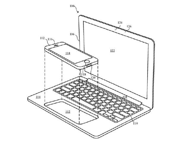 蘋果新專利 iPhone與iPad也能成為筆電提高生產力