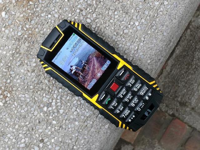 防水、防塵、耐摔 G-PLUS F1三防功能手機開箱