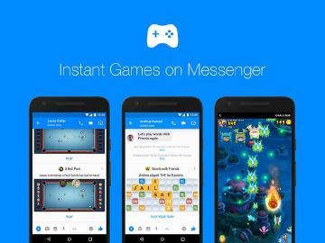 FB Messenger即時遊戲新增排行榜與聊天機器人功能