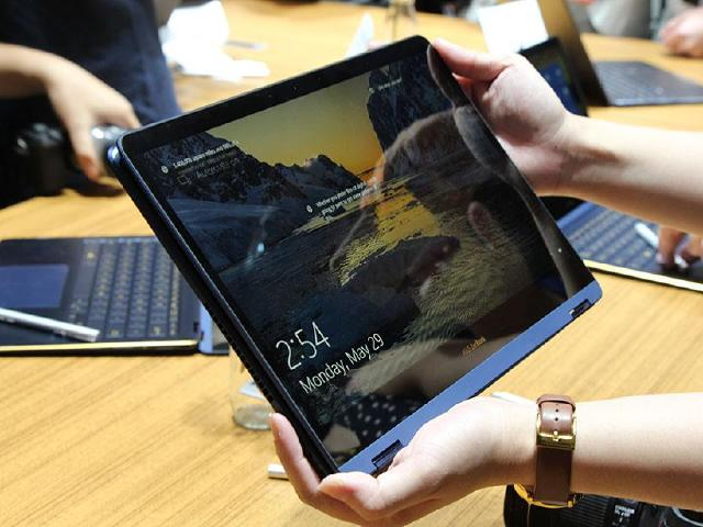 華碩ZenBook Flip S超薄翻轉筆電 7月上市[Computex 2017]