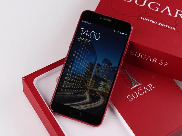 520限量款 SUGAR S9珊瑚紅開箱