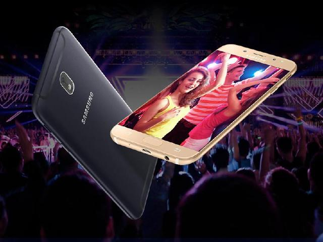 三星發表窄邊框Galaxy J7 Pro與Max 台灣會上市