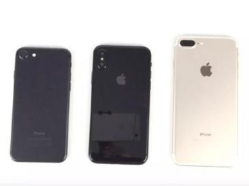 蘋果iPhone 8樣機外觀一覽 亮黑機身超搶眼