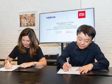 小米攜手NOKIA 簽署商務與專利合作協議