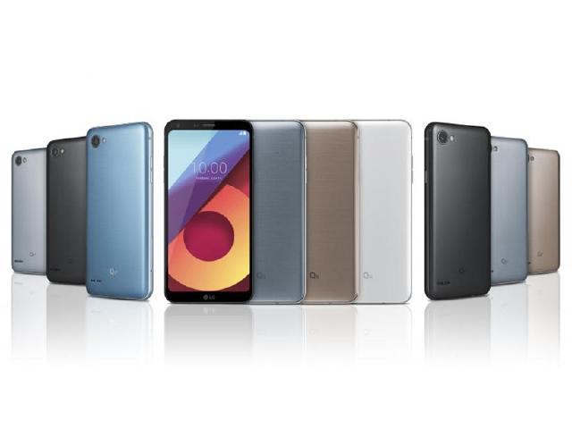 LG Q6系列中階手機發表 5.5吋18:9螢幕設計
