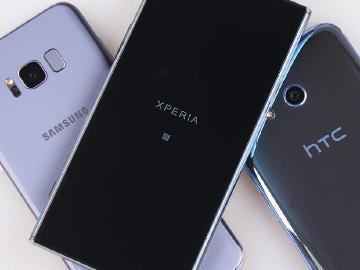 台灣6月旗艦手機洗牌 XZP賣最好 S8系列銷售佳 U11開紅盤