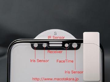 iPhone 8螢幕玻璃貼亮相 聽筒上方開孔確定