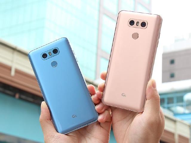 LG G6夏季新色開箱!極光藍與絲絨金圖賞