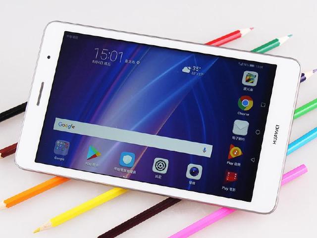 8吋平價通話平板 華為MediaPad T3評測