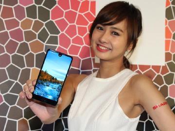 Sharp AQUOS S2全螢幕手機 8月下旬台灣上市