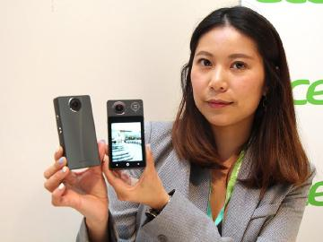宏碁Holo 360全景相機支援4G 搭載高通S625[IFA 2017]