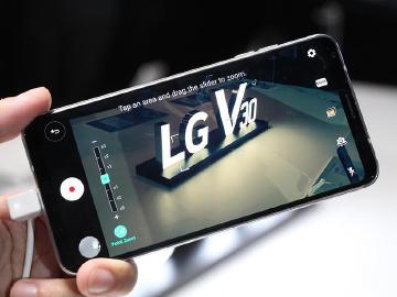 6吋大屏影音旗艦LG V30發表 9月底南韓率先上市