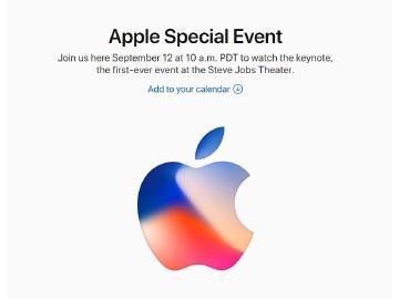 蘋果9/12舉辦活動 傳iPhone 8搭載操控手勢