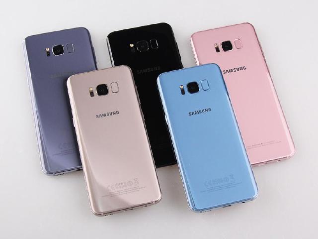 SAMSUNG S8與S8+ 台灣五款上市顏色圖賞