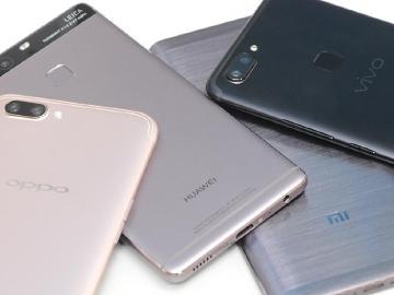 除了小米、華為與OPPO 中國品牌手機還有這些