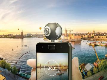 華碩ZenFone Live冰川藍與360度全景攝影機同步上市
