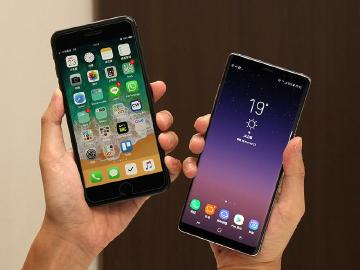 iPhone 8開賣 9月蘋果奪台灣手機市場三冠王