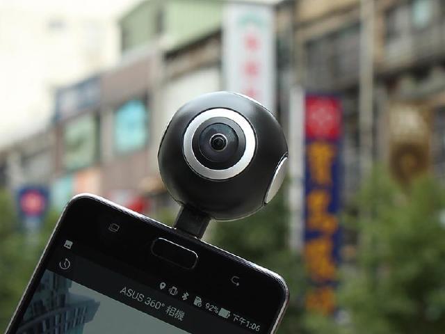 小眼睛 大世界 ASUS 360° 全景相機開箱實測