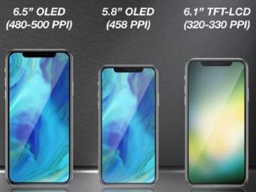 明年iPhone傳推三種螢幕尺寸 iPad可能移除Touch ID