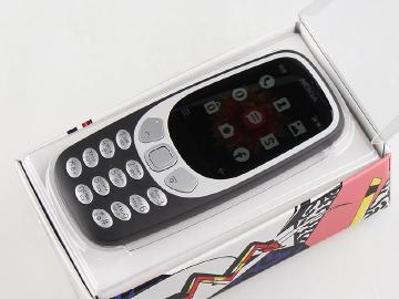 台灣開箱體驗 NOKIA 3310 3G復刻版