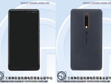 2018新版NOKIA 6通過中國認證 金屬機身高螢幕占比