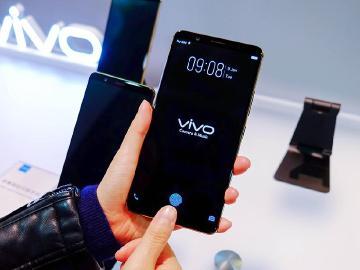 光學螢幕指紋辨識技術 vivo手機率先導入量產[CES 2018]